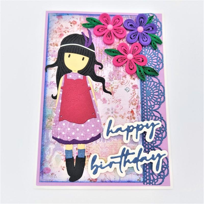 Felicitare 3D Happy Birthday