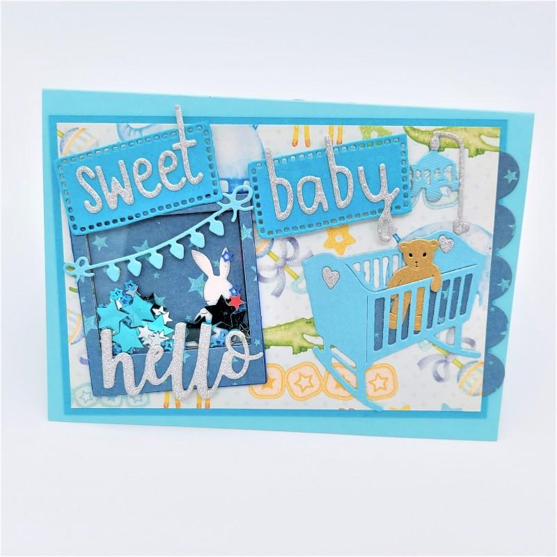 Felicitare 3D Sweet Baby 2