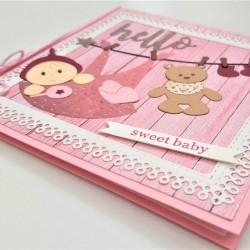 Felicitare 3D Sweet Baby 4