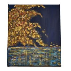 "Tablou ""Golden Tree"""