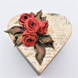 Caseta bijuterii Love letter