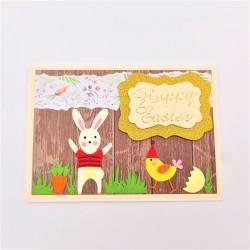 Felicitare 3D Happy Easter