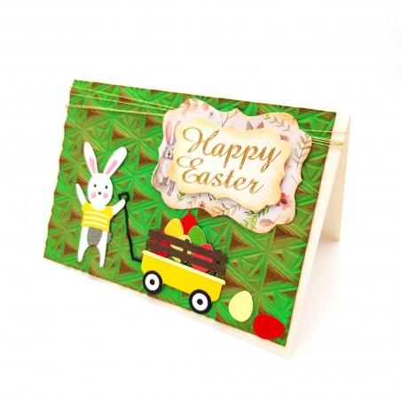 Felicitare 3D Happy Easter 3