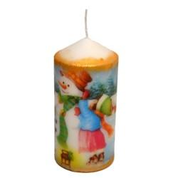 "Lumanare decorativa ""The joy of childhood"""