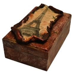 "Caseta bijuterii ""Bonjour Paris"""