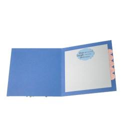 Felicitare nunta 3D Blue Wish