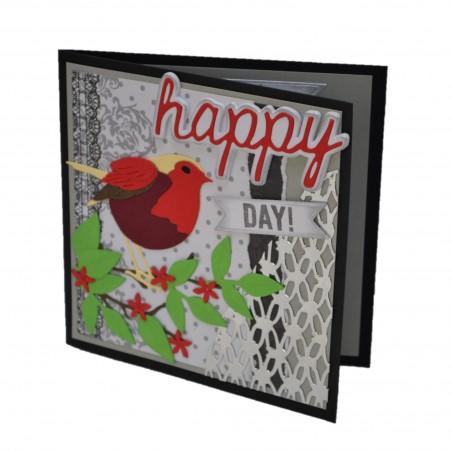 Felicitare nunta 3D Happy Day