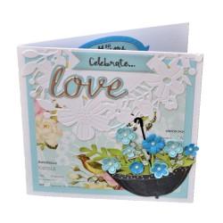 Felicitare nunta 3D Celebrate love