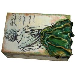 "Caseta bijuterii ""Mysterious lady"""