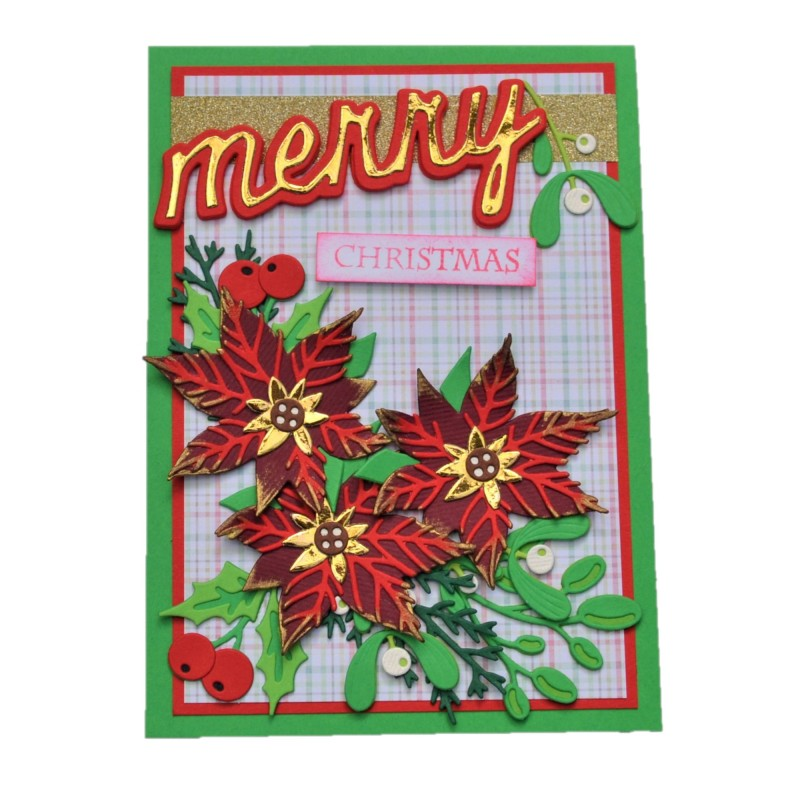 Felicitare 3D Merry Christmas